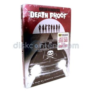 Grindhouse Death Proof Steelbook