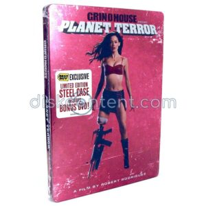 Grindhouse Planet Terror Steelbook