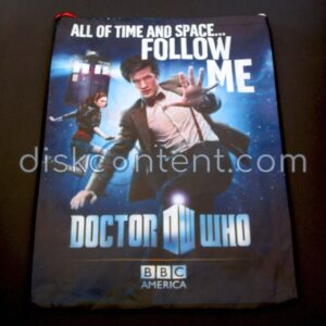 Doctor Who / Being Human Comic-Con Bag - Doctor Who side