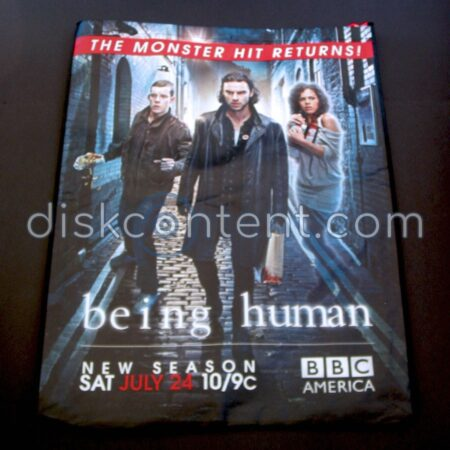 Doctor Who / Being Human Comic-Con Bag - Being Human side