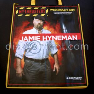 Mythbusters Jamie Hyneman Comic-Con Bag
