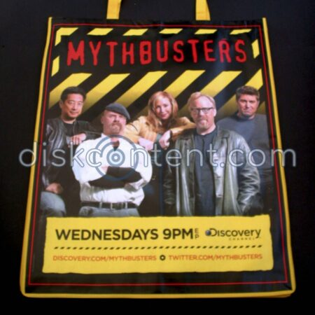 Mythbusters Comic-Con Bag - Side 2 with Cast