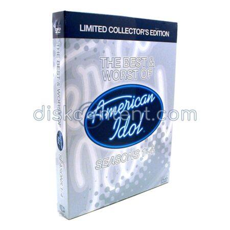 American Idol Best & Worst of Seasons 1-4
