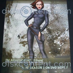 The Animated Alias Promo Poster