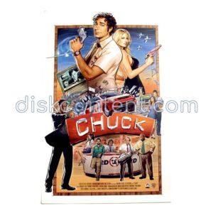 Chuck Comic-Con 2009 Mini Poster