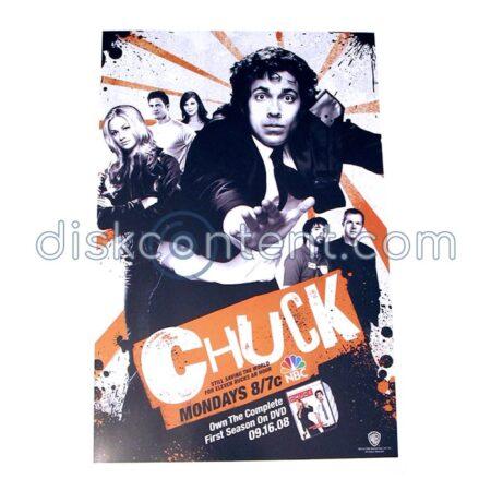 Chuck DVD Promo Mini Poster