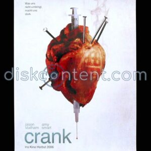 Crank Movie Teaser Poster