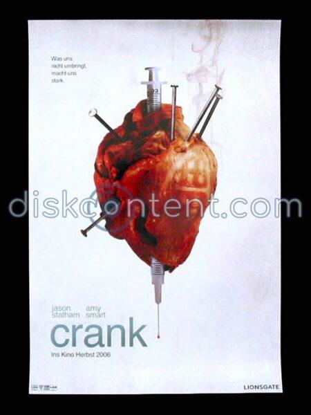 Crank Movie Teaser Poster