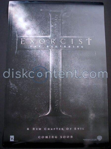 Exorcist: The Beginning Movie Teaser Poster