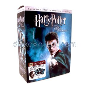 Harry Potter and The Order of the Phoenix with Death Eater Mask