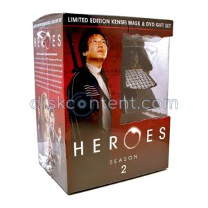 Heroes Season 2 Limited Edition Kensei Mask Best Buy Exclusive