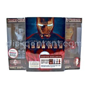 Iron Man Ultimate Edition Bobble Head Gift Set