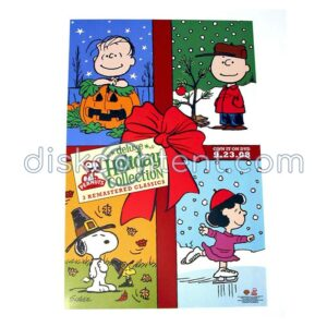 Peanuts Holiday Collection Promo Poster