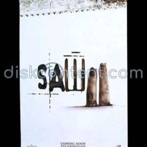 Saw II Movie Teaser Poster