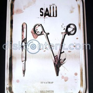 Saw IV Movie Teaser Poster