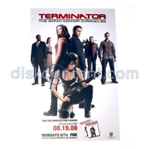 Terminator: The Sarah Connor Chronicles Promo Poster