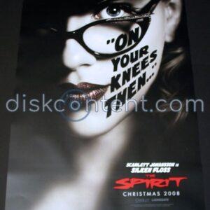 The Spirit Movie Character Poster Set - Scarlett Johansson / Silken Floss
