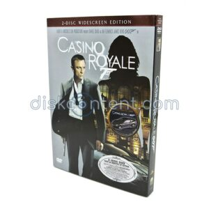 Casino Royale with Aston Martin model car