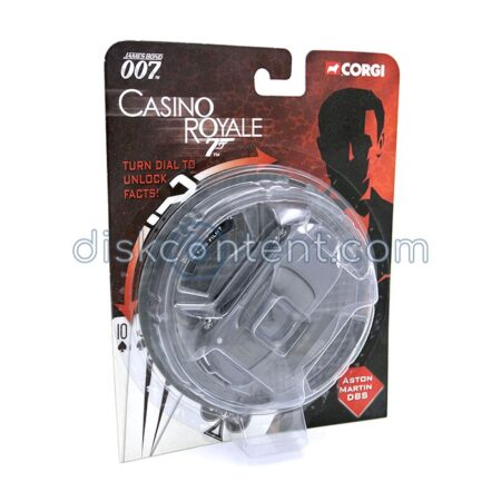 Casino Royale with Aston Martin model car - Corgi package