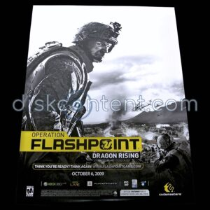 Operation Flashpoint: Dragon Rising Promo Poster - front side