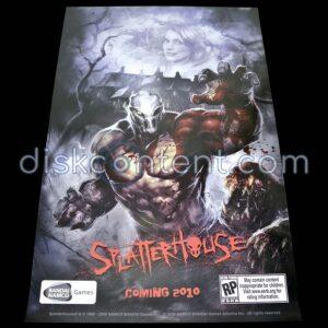 Splatterhouse Video Game Promo Poster