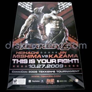 Tekken 6 Comic-Con 2009 Tournament Poster