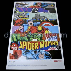 iGoogle Comics Themes Marvel Poster