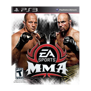 EA Sports MMA video game for PS3