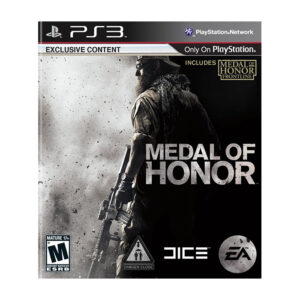 Medal Of Honor video game for PS3