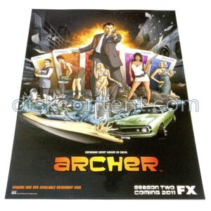 Archer Season One Promo Poster