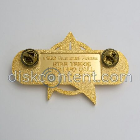 Star Trek Movie Starfleet Pin - back