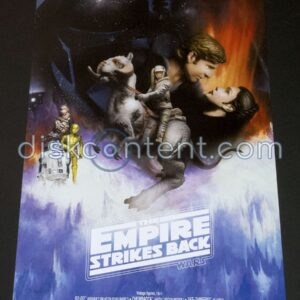 Star Wars The Empire Strikes Back Hasbro Poster - front